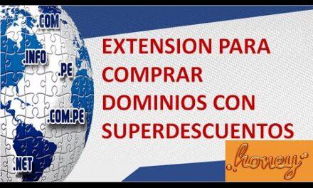Comprar Dominios SuperDescuentos con la Extension Honey
