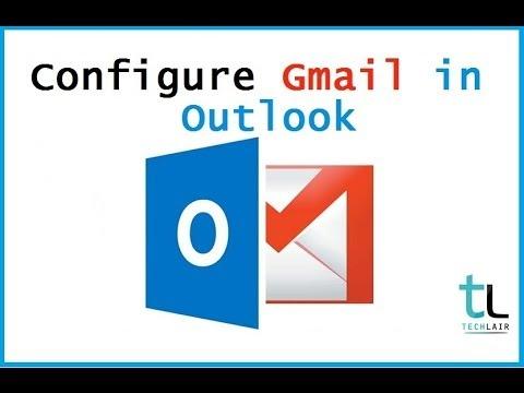 configure gmail in outlook 2013   POP3 & IMAP