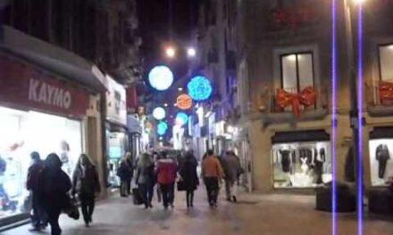 La ciudad de Lleida en Navidad