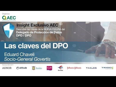 Las Claves del Delegado de Protección de Datos (DPD / DPO) por Eduard Chaveli
