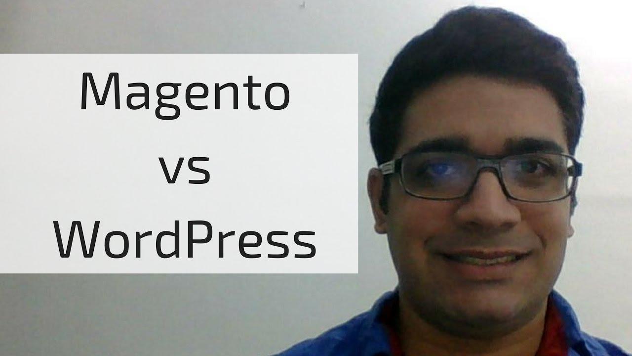 Magento vs WordPress for eCommerce