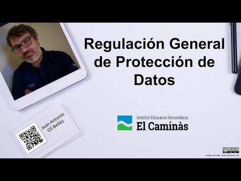RGPD – Regulación General de Protección de Datos