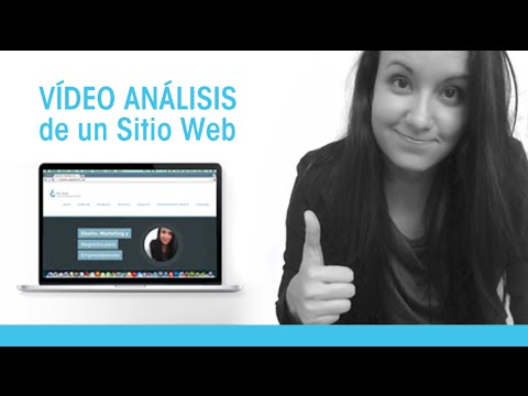 Video Análisis de un Sitio Web   Sugerencias y Recomendaciones para mejorar un sitio web