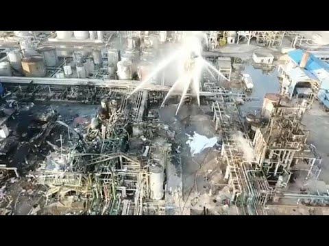 Causas da explosão em Tarragona por apurar