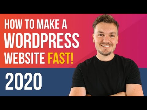 FAST WordPress Tutorial 2020 – How to Make a Website in 8 mins (EASY!)