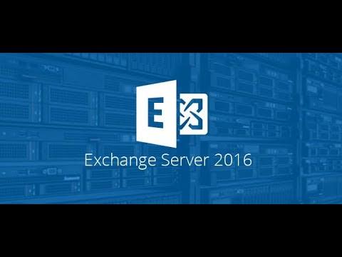 How to Configure Microsoft  Exchange 2016 on server 2012 r2