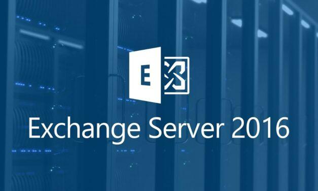 How to install  Microsoft Exchange Server 2016 on server 2012