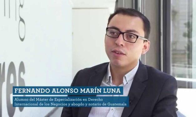 Máster en Derecho Internacional de los Negocios – Fernando Alonso Marín