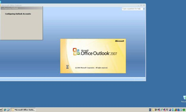 Configuring Microsoft Outlook 2007 To Access An Exchange Server – Windows XP
