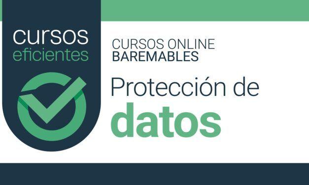Curso homologado online Protección de datos de carácter personal (adaptado al RGPD)
