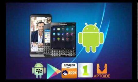 Cómo Instalar Aplicaciones Android apk en BlackBerry 10