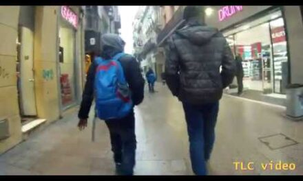 Lleida, Spain  (Calle Mayor Dec, 2019)