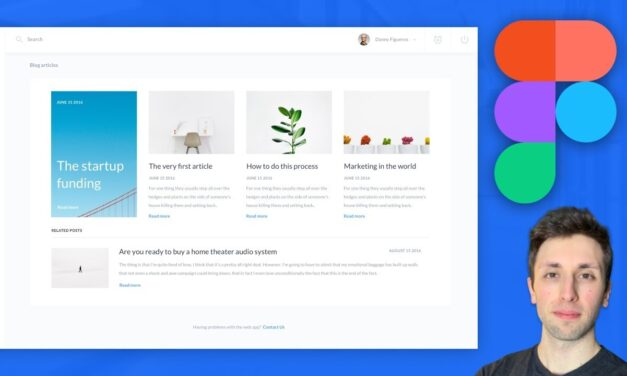 Figma Tutorial (SaaS Web App) UI Design: Figma Tutorial for Beginners mp4