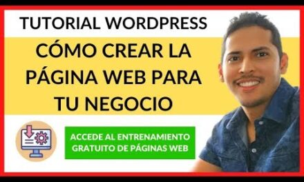 Tutorial WordPress ✅ Cómo crear una Paginas Web paso a paso 2020 ✅