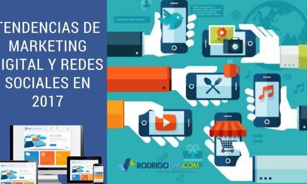 Sugerencia para redes sociales de Youtube: Tendencias de Marketing Digital y Redes Sociales en 2017