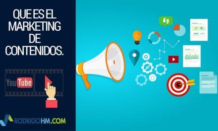 Sugerencia para redes sociales de Youtube: Que es El Marketing de Contenidos – Elementos Visuales
